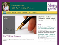 The Writing Goddess