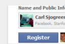 facebook Registration Button