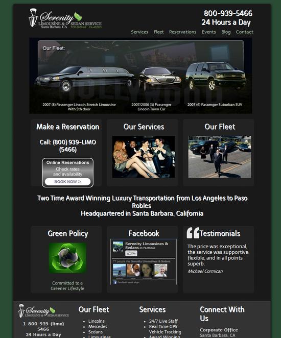 Santa Barbara Limousine Company - Serenity Limo