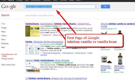 Top Ranking on Google using SEO