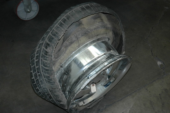 Tire Wear and Failure Analysis