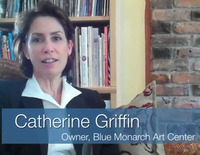 Video Blog Testimonials - Catherine Griffin from Blue Monarch Art Center