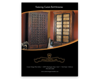Custom Vintage Wine Cellars Ad 2