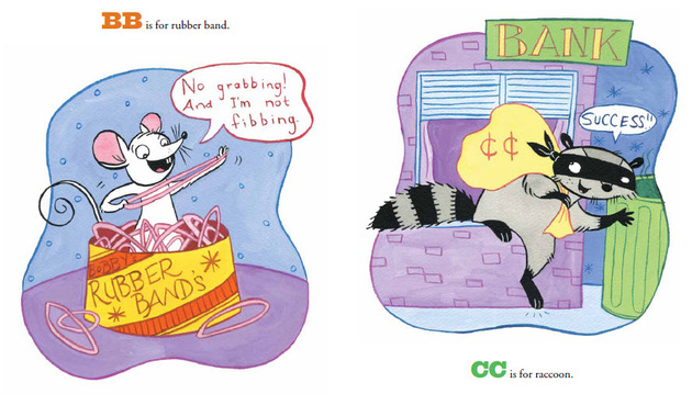 Aa Is For Aardvark spread 1