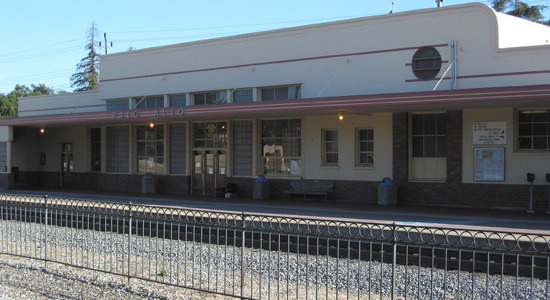 Palo Alto Caltrain Depot