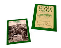 Marin Wine Vaults Postcards