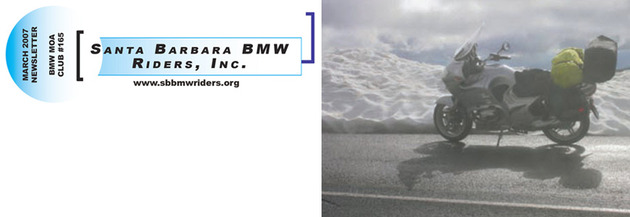 2012 SB BMW Riders Newsletters