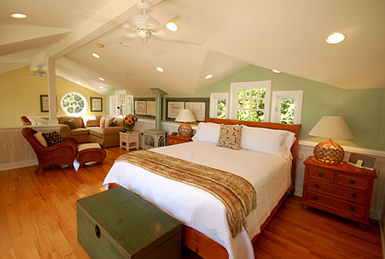 Captain's Cottage Master Bedroom