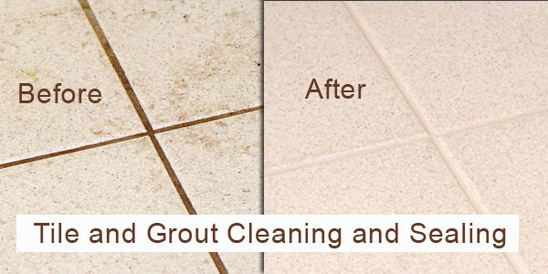 Natural Stone and Tile Grout Cleaning and Sealing