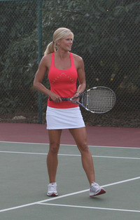 Tennis is great exercise