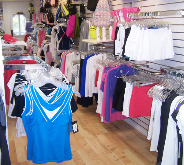 Ladies department Tennis Shop