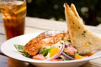 Santa Barbara Restaurant May 18 Friday Salmon Salad Special