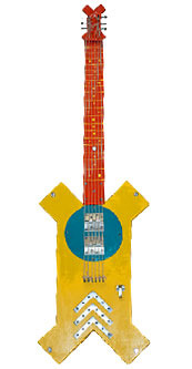 Guitar Mellow Yellow