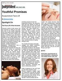 Youthful Promises: Acupuncture Face-Lift
