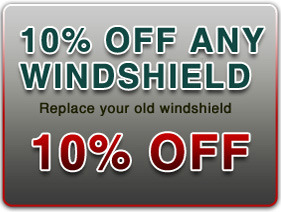 10% off Any Windshield