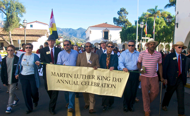 Santa Barbara Honors Martin Luther King Jr.