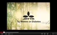 Taj Weekes on Diabetes