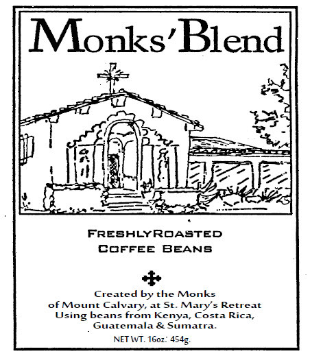 Monk's Blend Coffee