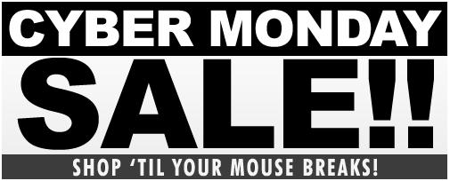 CYBER MONDAY SALE AT XS-PRODUCTS