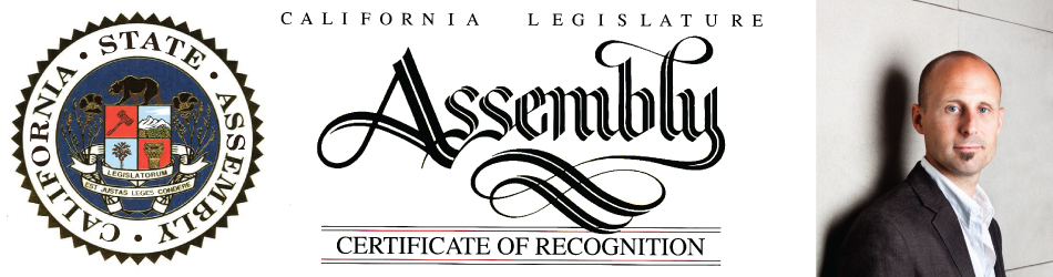 Clay Aurell Recognized by California Assemblyman for '40 Under 40' Award