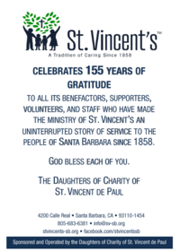 St. Vincent's Celebrates 155 Years of Graditude