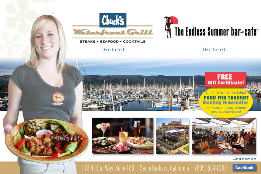 Chuck's Waterfront Grill &amp; Harbor Restaurant