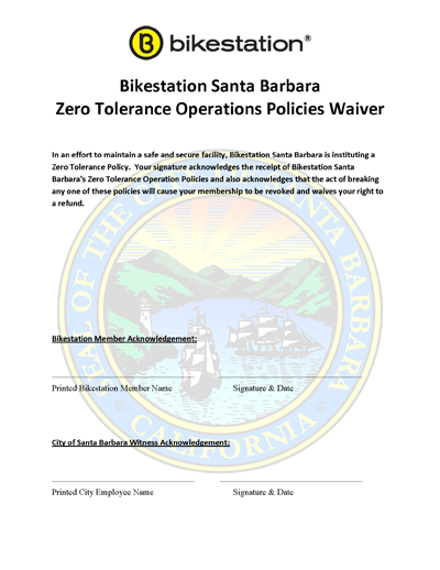 SB Zero Tolerance Waiver PNG