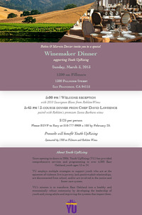 Youth Uprising Winemaker Dinner