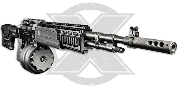 X-14 M14 EBR Vertical View