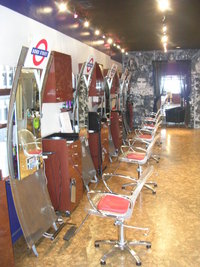 Underground Hair Artists Santa Barbara Salon Chairs