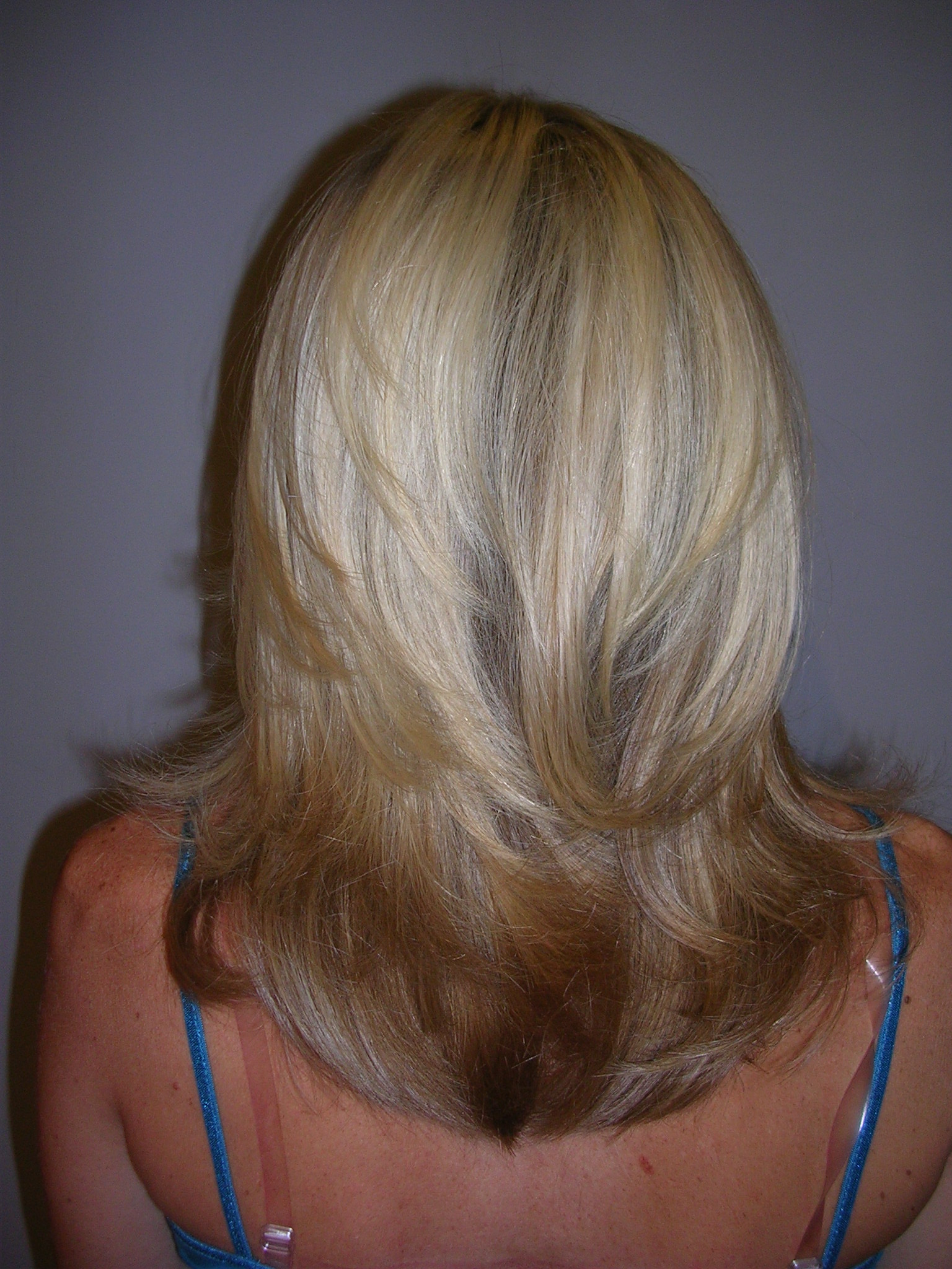 Gray Hair with Highlights and Lowlights