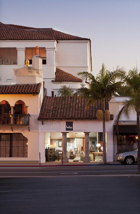Santa Barbara Interior Design Indigo A Home