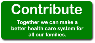 Contribute Today for a better health care system