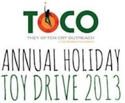 TOCO Announces its Annual Holiday Toy Drive - BICYCLES