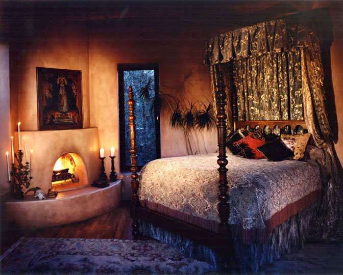 Linda adams interior designer santa barbara california for A bedroom in spanish