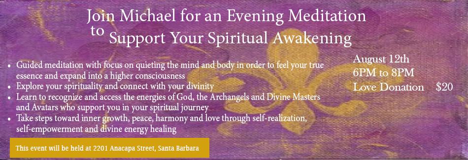 Divine Love Meditation & Healing Workshop