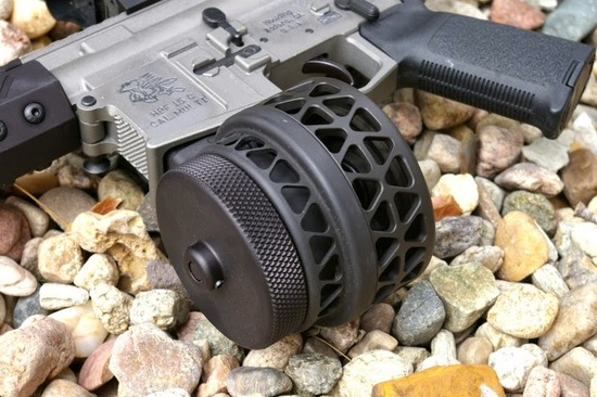 X Products High Capacity AR15 AR10 Drum Magazine Review
