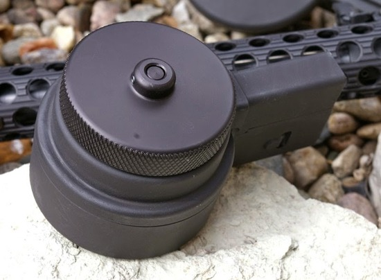 X Products High Capacity AR15 AR10 Drum Magazine Review-2