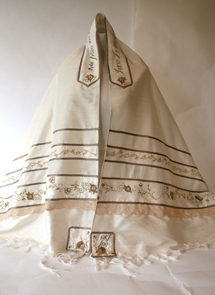 Leah's totally unique tallit