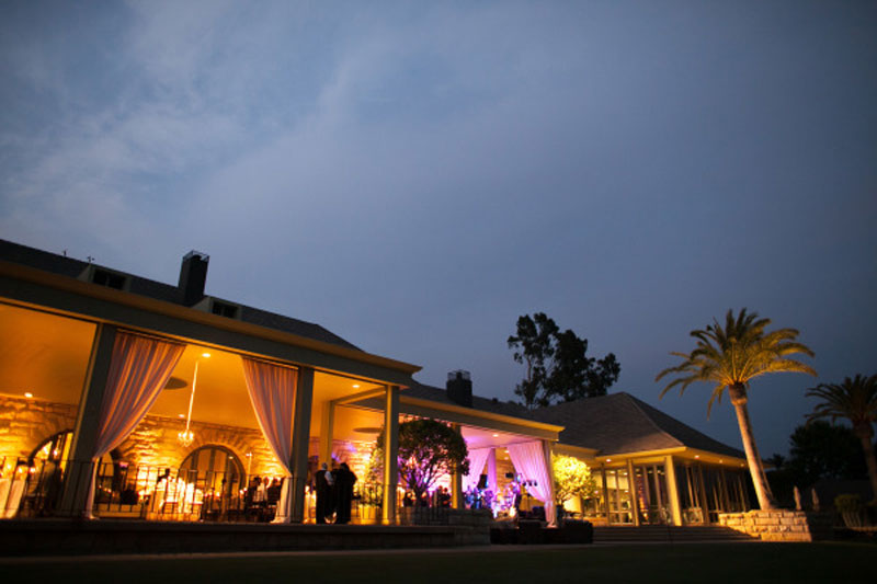 Santa Barbara Event Lighting Decor