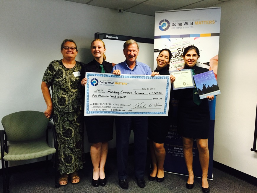 Santa Barbara High School Dons Net Cafe Wins Small Business Summit Business Plan!