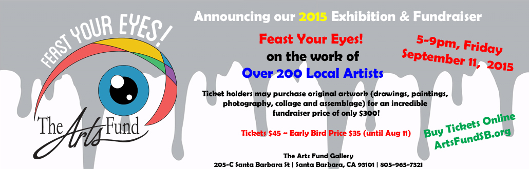 September 11th, Opening Night Fundraiser ~ Feast Your Eyes!