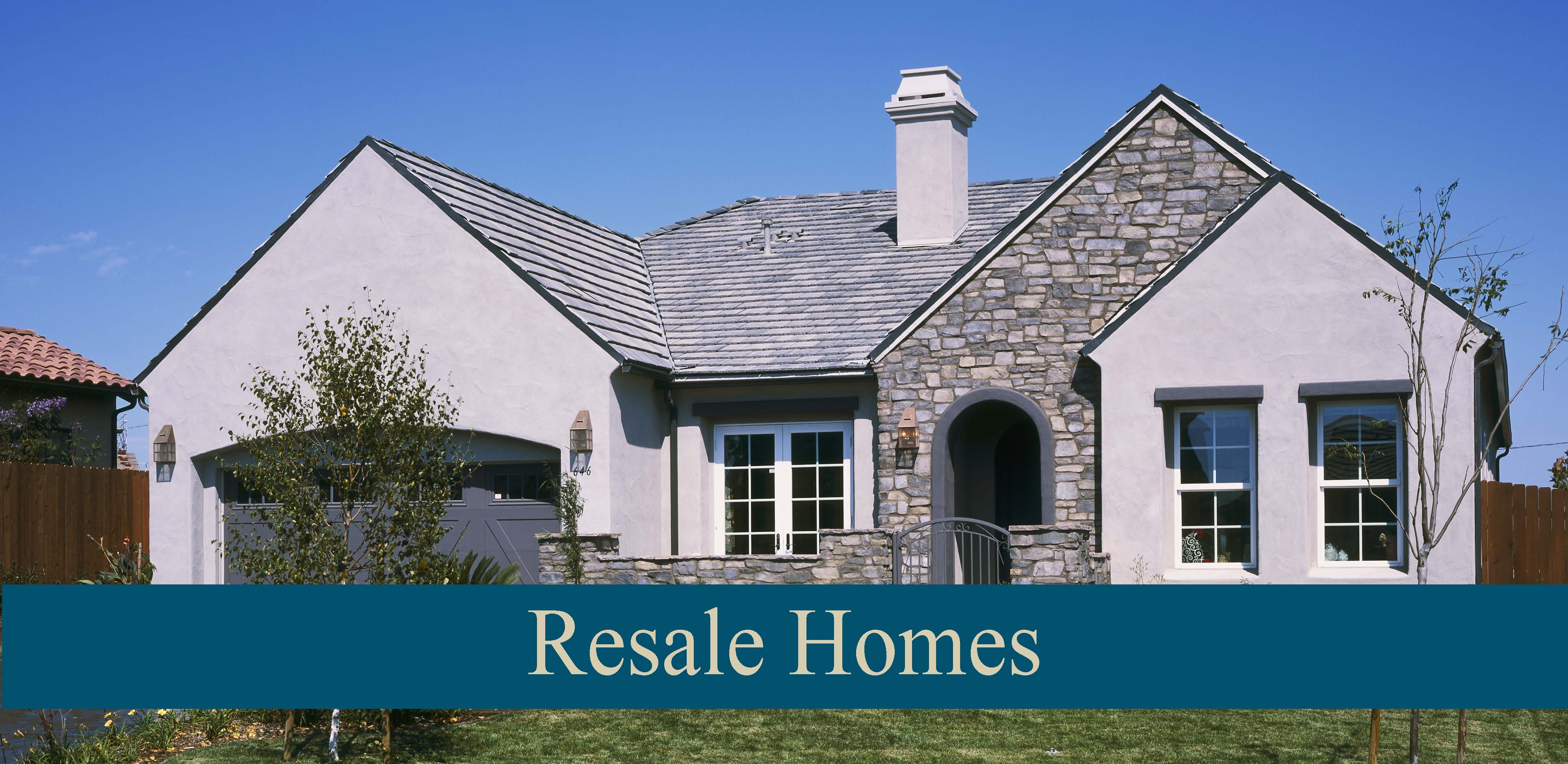 Resale Homes