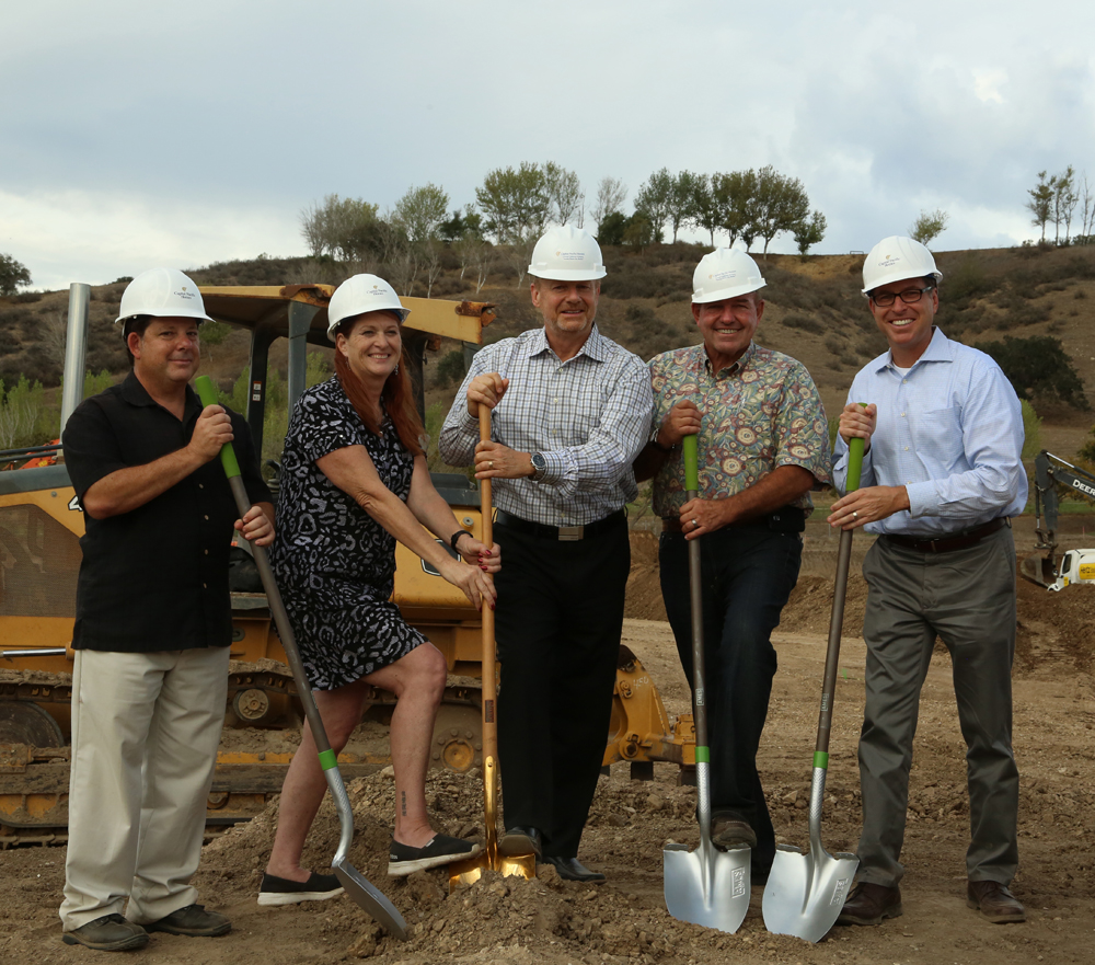Capital Pacific Homes Breaks Ground on Green Housing Development, Vineyard Village