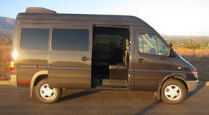 Golden Limo SB Luxury Van