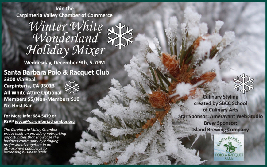 Winter White Wonderland Holiday Mixer - Dec 9th - Polo Field