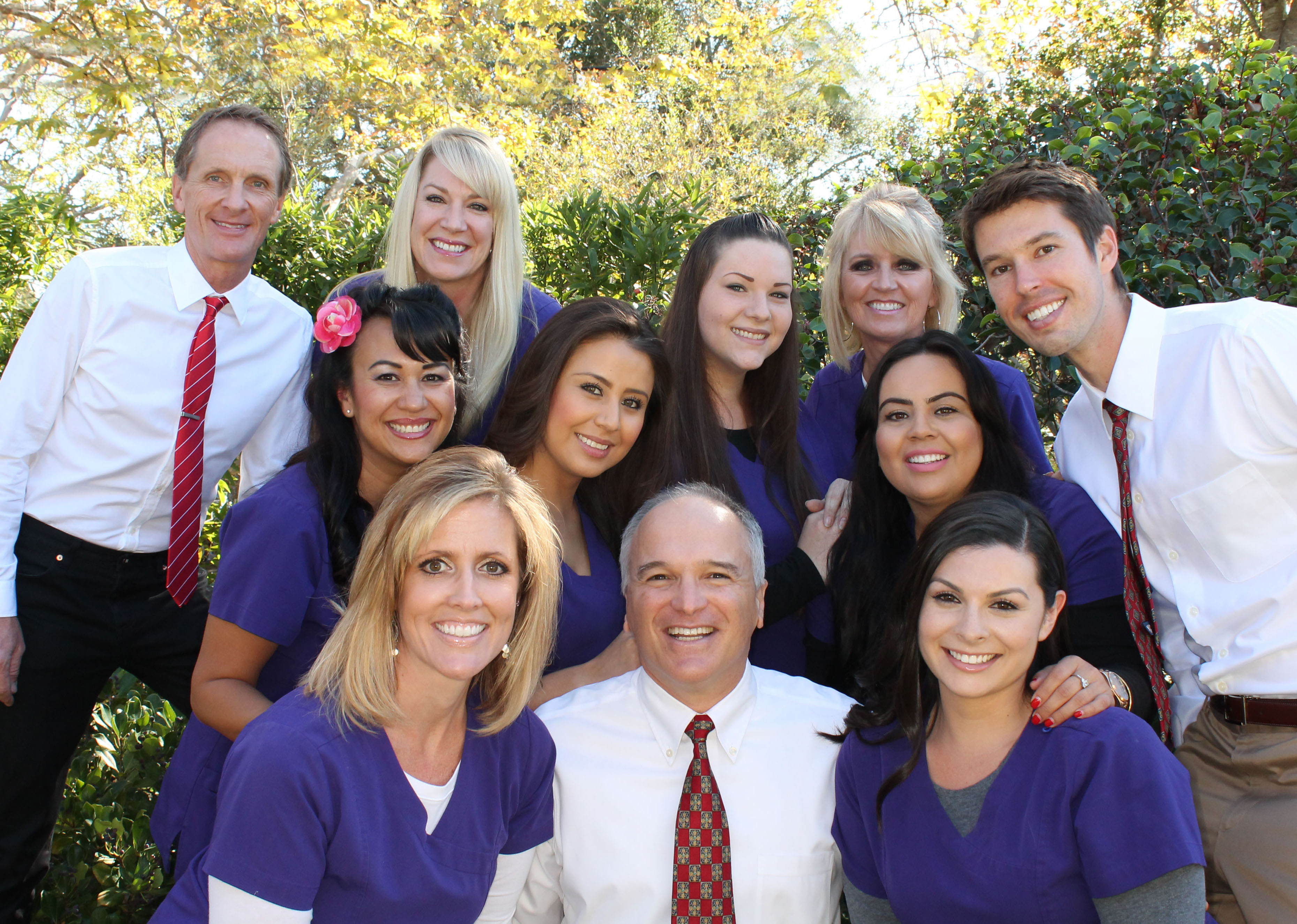 Santa Barbara Top Orthodontists Drs. Edstrom, Trigonis and Swenson and Team 2016