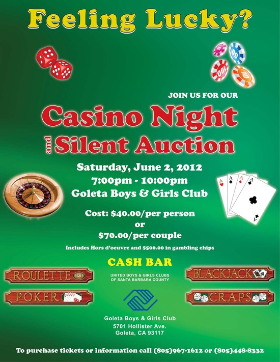 Goleta Boys & Girls Club Casino Night