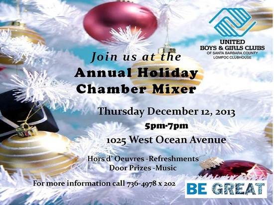 2013 Holiday Chamber Mixer