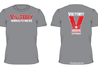 Victory Men's Broken Tee / Grey
